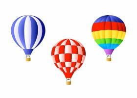 高清矢量图天空氢气球热气球设计元素海报素材