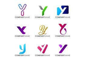 创意英文字母品牌名称公司徽标OGO业务公司设计
