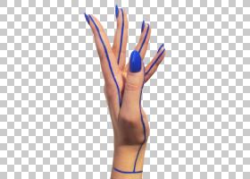 手电蓝,手臂,关节,手模型,拇指,电蓝,时尚摄影,手指,Nageldesign,