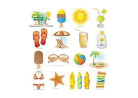 夏日海滩用品