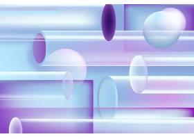 电商通用渐变个性线条光影光晕图形元素矢量背景