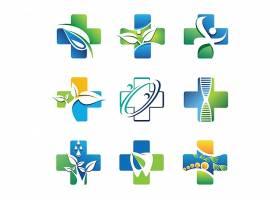 医疗绿色LOGO设计