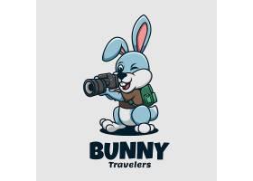 兔子摄影师LOGO设计