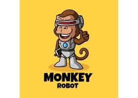 猩猩机器人LOGO设计