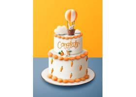 二层生日蛋糕