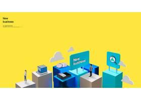 韩式创意互联网科技时代主题海报设计