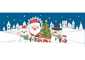 创意圣诞节海报设计素材