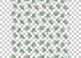 绿色植物叶子主题无缝装饰背景免扣素材