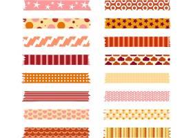 清新创意胶布标签标贴设计