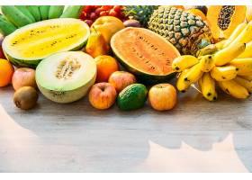 新鲜的热带水果