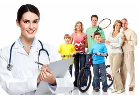 医生与家庭健康