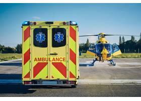 医护人员的抢救紧急救援救护车飞机