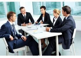 商务团队会议