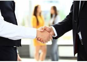 商务合作握手