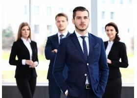 商务年轻职场人物