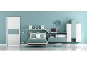北欧风文艺时尚简洁卧室设计