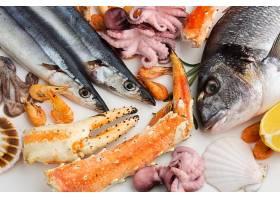 海鲜鱼虾蟹贝壳蟹钳