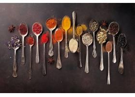 多种多样的香料香辛料调味料