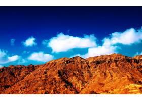 地球,山,山脉,沙漠,蓝色,天空,云,壁纸,