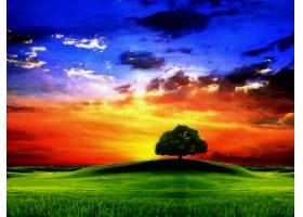 地球,日出,壁纸,(7)