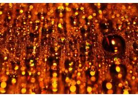 地球,水,滴,巨,橙色的,壁纸,
