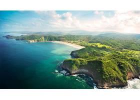 地球,海岸线,海洋,海,尼加拉瓜,风景,壁纸,