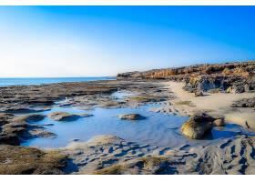 地球,海景画,岩石,海岸,水,地平线,海滩,风景优美的,海岸线,自然,