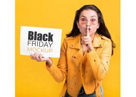个性创意黑色星期五主题海报设计