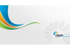 白色互联网科技主题系统banner背景