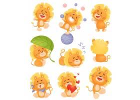 卡通狮子IP设计