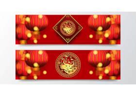新年红灯笼素材