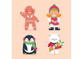 圣诞节卡通角色
