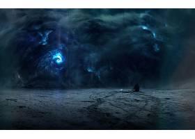 启示录的,暴风雨,男人,云,壁纸,