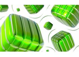 抽象,数字的,艺术,艺术的,绿色的,3D,壁纸,