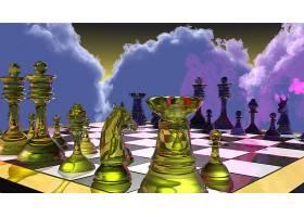 比赛,象棋,象棋,板,提出,3D,壁纸,
