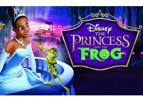 电影,公主,和,青蛙,壁纸,