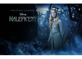 电影,Maleficent,Elle,范宁,公主,曙光,迪斯尼,壁纸,