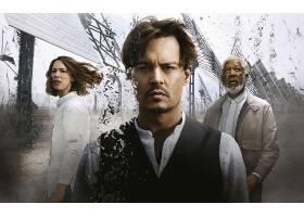 电影,超越,男人,Depp,摩根,自由民,丽贝卡,走廊,壁纸,