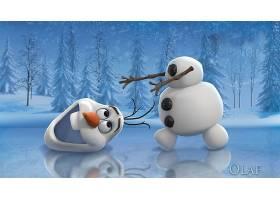 电影,冰冻的,奥拉夫,雪人,雪,冬天的,迪斯尼,幽默,壁纸,
