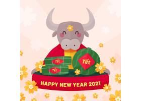 2021年越南新年快乐海报