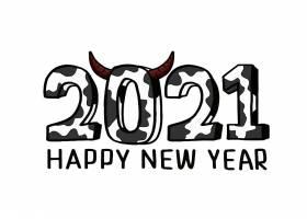 2021年新年倒计时2021年牛年