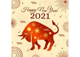烟花爆竹2021年越南新年快乐