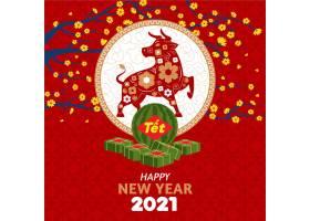 2021手绘越南新年