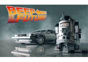 电影,交叉,星星,战争,背部,到,将来的,R2-D2,壁纸,