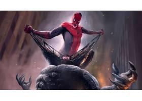 电影,交叉,蜘蛛侠,恶意,壁纸,