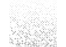 灰色正方形图案背景矢量插图_12652710101