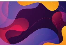 抽象波浪形背景_125557650101