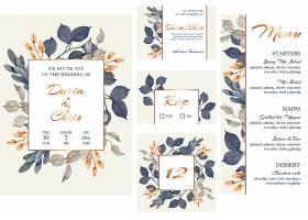 花卉婚礼文具收藏_11619734