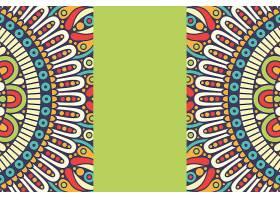 无缝图案复古装饰元素手绘背景_12919571