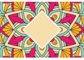 无缝图案复古装饰元素手绘背景_12920432